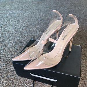 Glass Stilettos!